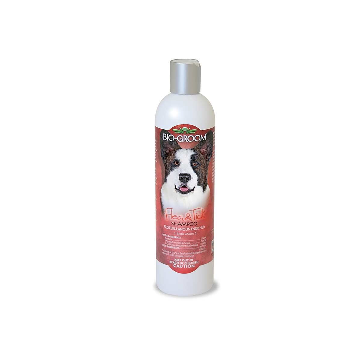 Bio-Groom Flea and Tick Dog Shampoo 12 Ounce 4:1