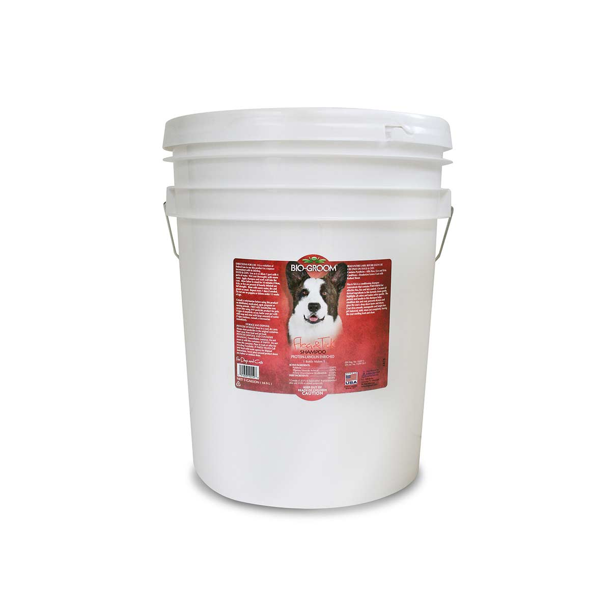 5 Gallon 4:1 Bio-Groom Flea & Tick Dog Shampoo for Grooming