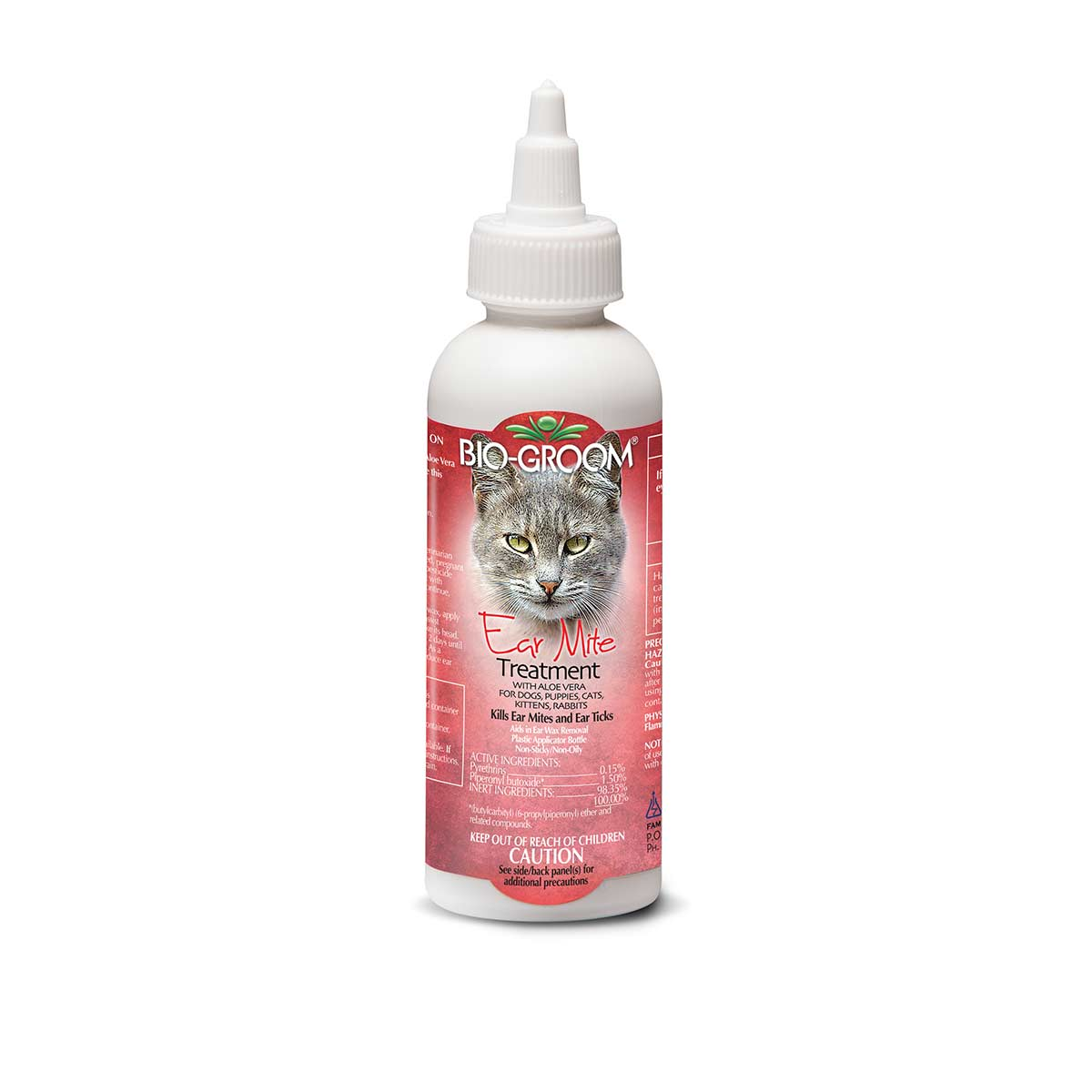4 oz Bio-Groom Ear Mite Treatment for pets and dogs