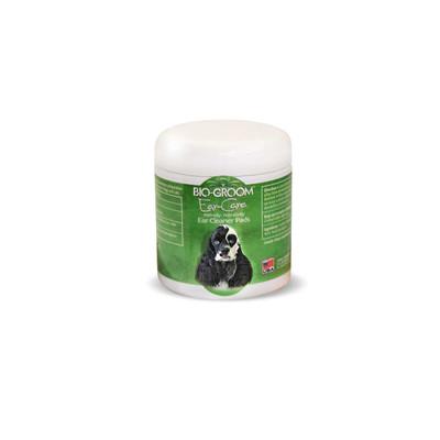 Bio-Groom Ear Care Non-Oily Non-Sticky Ear Cleaner Pads for Dogs