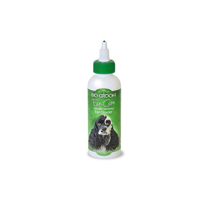 4 oz Bio-Groom Ear Care Ear Cleaner and Ear Wax Remover for Dogs