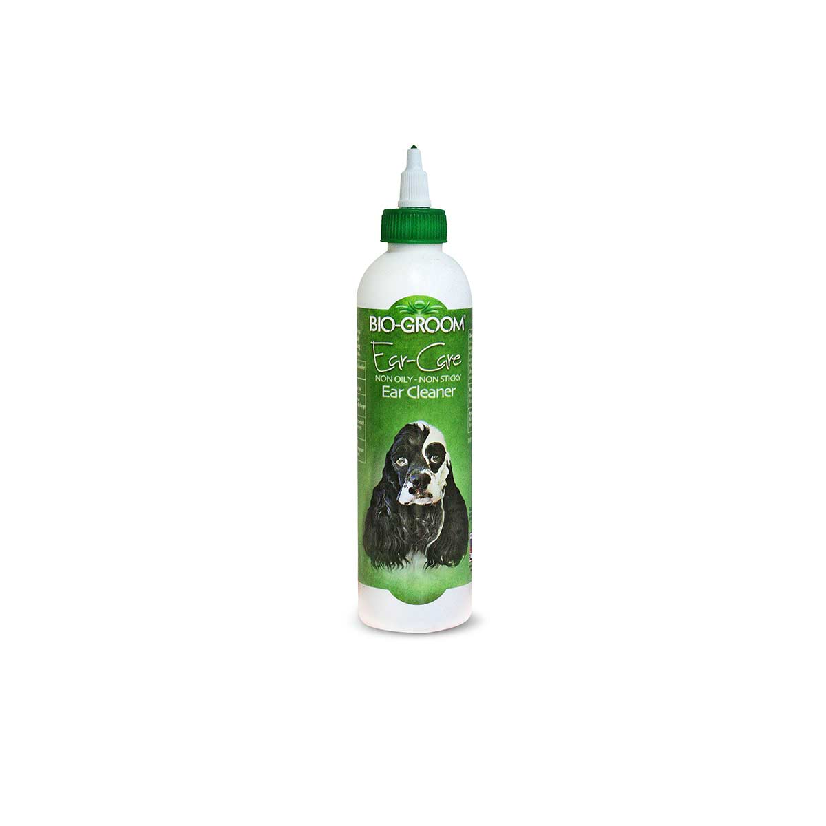 Bio-Groom Ear Care Non-oily Non-Sticky Ear Cleaner and Ear Wax Remover for Dogs 8 oz