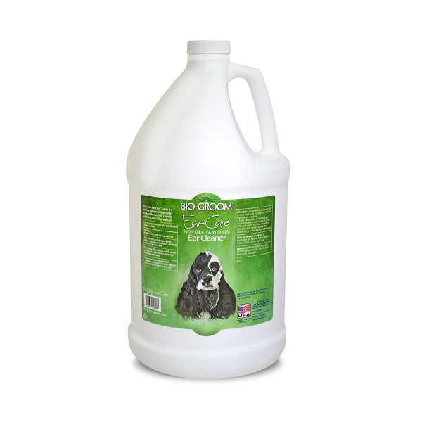 Gallon Bio-Groom Ear Care Non-Oily Non-Sticky Ear Cleaner Ear Wax Remover for Cats and dogs