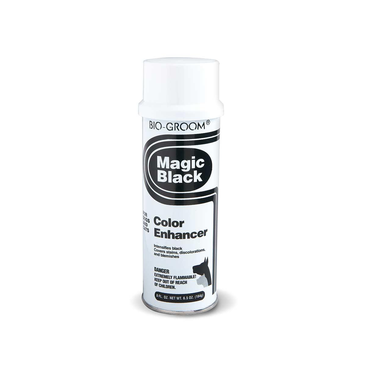 8 oz Bio-Groom Magic Black Color Enhancer for Cats and Dogs