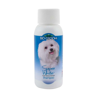 2 oz Trial of Bio-Groom Super White Shampoo