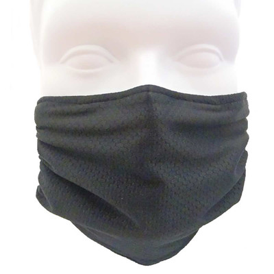 Black Breathe Healthy Honeycomb Mask