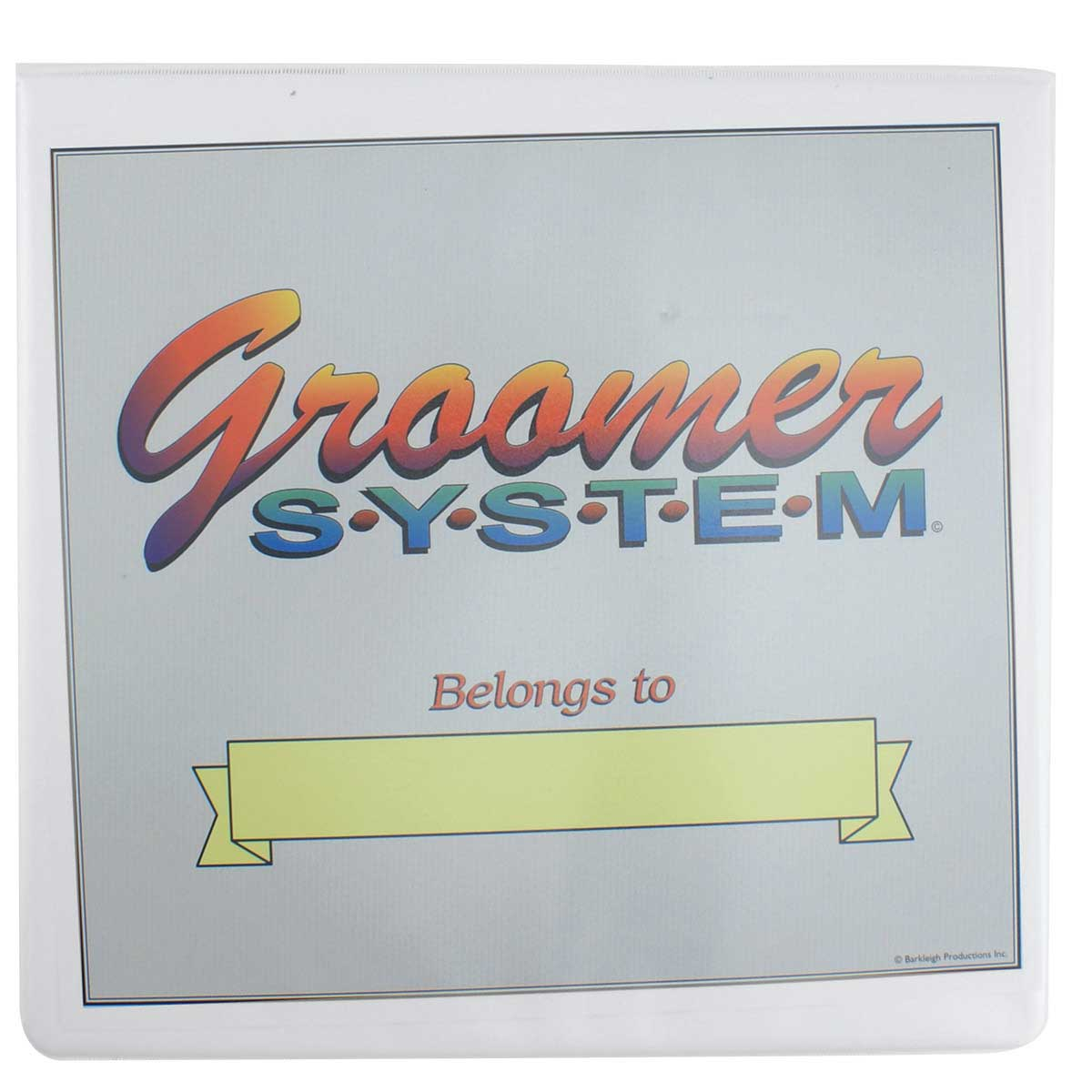 Groomer System Complete for Professional Groomers Belongs To Sheet