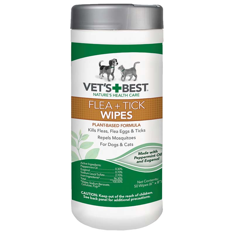 Vet's Best Flea and Tick Wipes 50 Count at Ryan's Pet Supplies