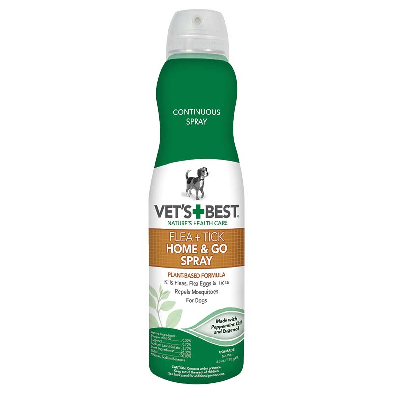 Vet's Best Flea and Tick Home and Go Spray at Ryan's Pet Supplies