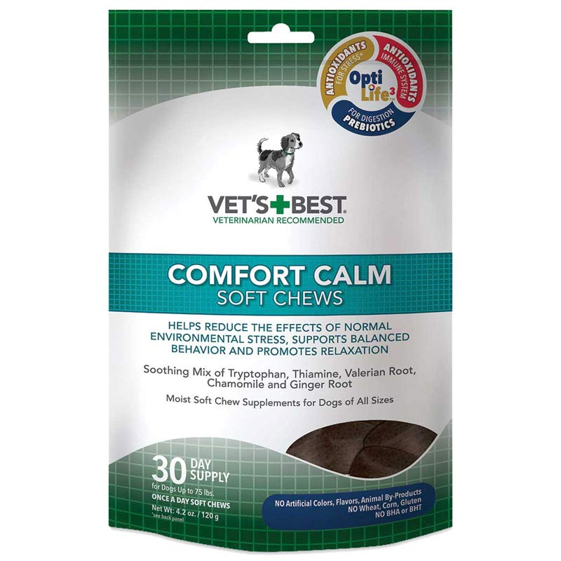 Vet's Best Comfort Calm Soft Chews 30-Day Supply For Dogs