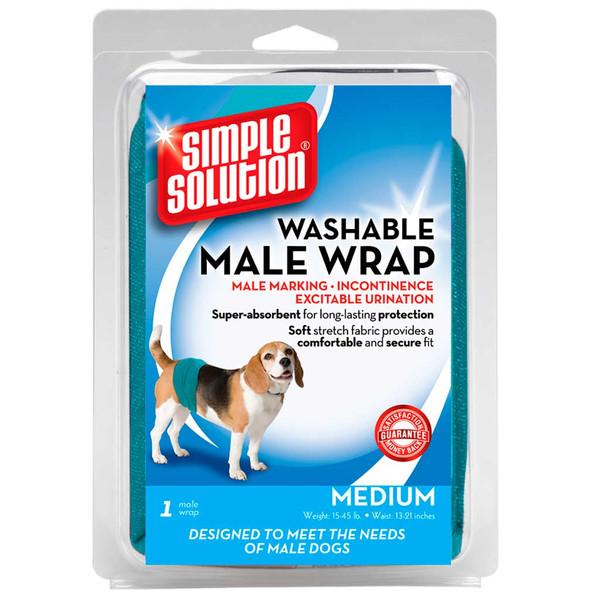 Medium Simple Solution Male Diaper Wraps