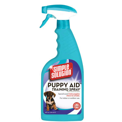 16 oz Simple Solution Puppy Aid Training Spray for Dogs