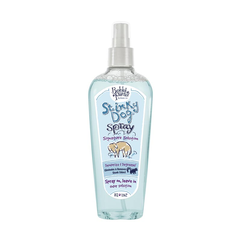 Bobbi Panter Natural Solution Stinky Dog Spray for Deodorizing 8 ounce