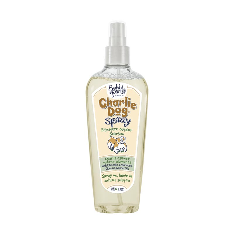 Bobbi Panter Charlie Dog Natural Outdoor Solution Flea & Tick Spray 8 ounce