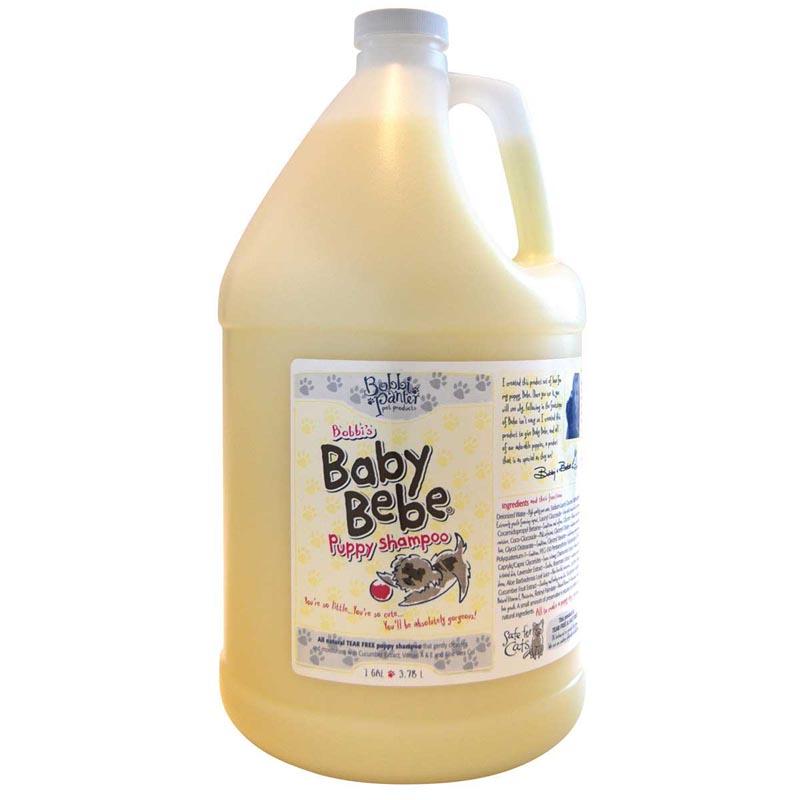 Gallon Bobbi Panter Baby Bebe Puppy Shampoo for Dogs