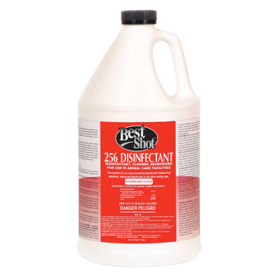 Best Shot 256 Disinfectant Cleaner and Deodorizer Wintergreen Gallon for use in Animal Care Facilities at Ryan's Pet Supplies