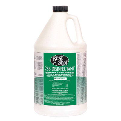 Best Shot 256 Disinfectant Fresh Scent Gallon Dedorizer and Cleaner for Animal Care Centers