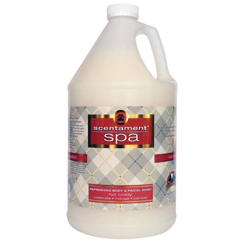 Gallon Best Shot Hot Toddy Refreshing Body & Facial Wash for Pets Concentrated 20:1