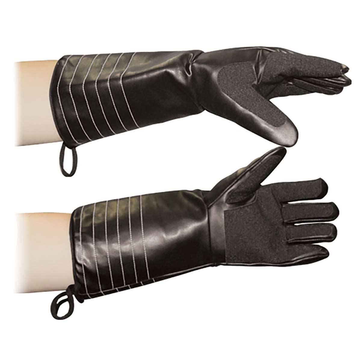 BiteBuster Armadillo Glove with Puncture Resistant Polymers Laminated to a strong cotton base for Animal Handlers