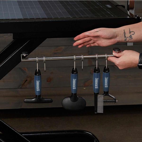 Blackworks Stealth Table Elite - hanging grooming tool rack