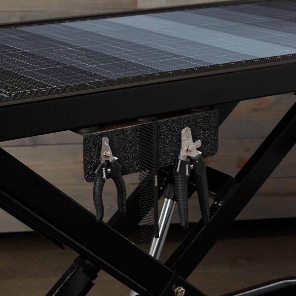 Blackworks Stealth Table Elite - magnetic grooming tool rack