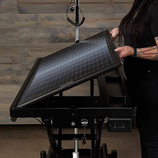 Blackworks Stealth Table Elite - adjustable angle grooming table