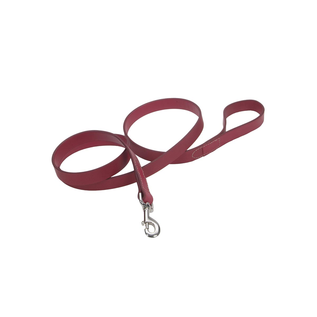 "3/4"" x 6"" Red Oak Tanned Leather Lead"
