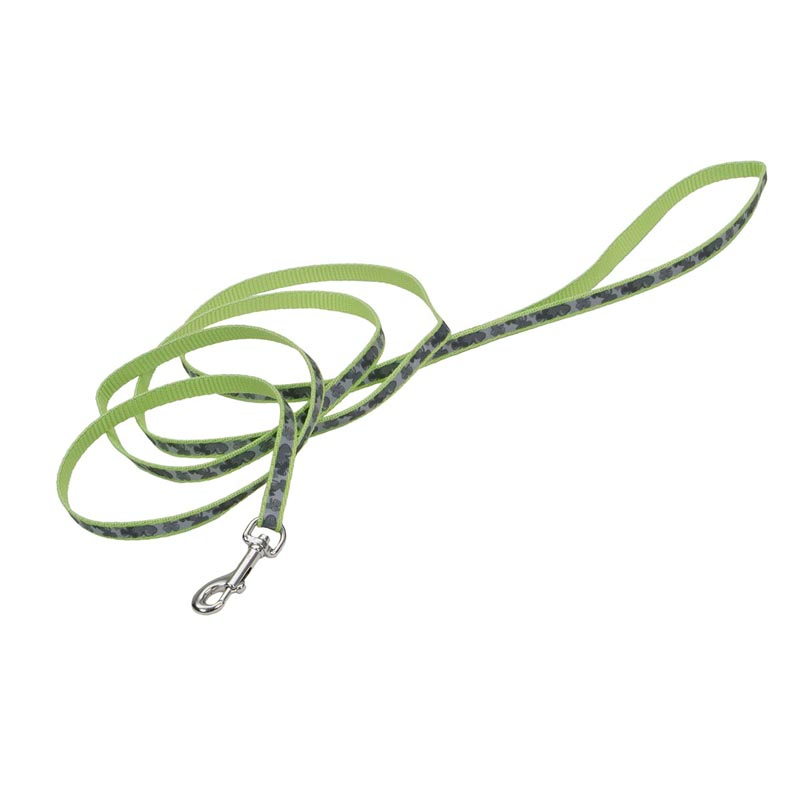 Coastal Lazer Brite Reflective Lead with Shamrocks - 3/8 in by 6 feet