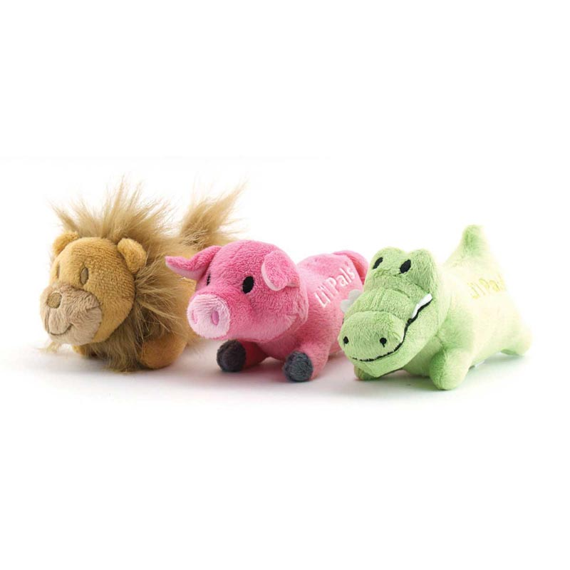 Small Dog/Puppy Toys - Li'l Pals Plush Toys 5 inch