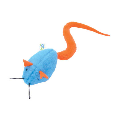 Turbo Tail Rattle Mouse Cat Toy