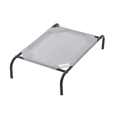 Gray Large Coolaroo Outdoor Dog Bed