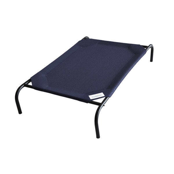 Navy Large Coolaroo Outdoor Dog Bed