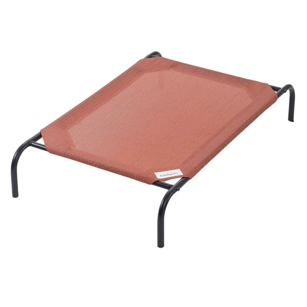 Rust XL Coolaroo Pet Bed for outdoors