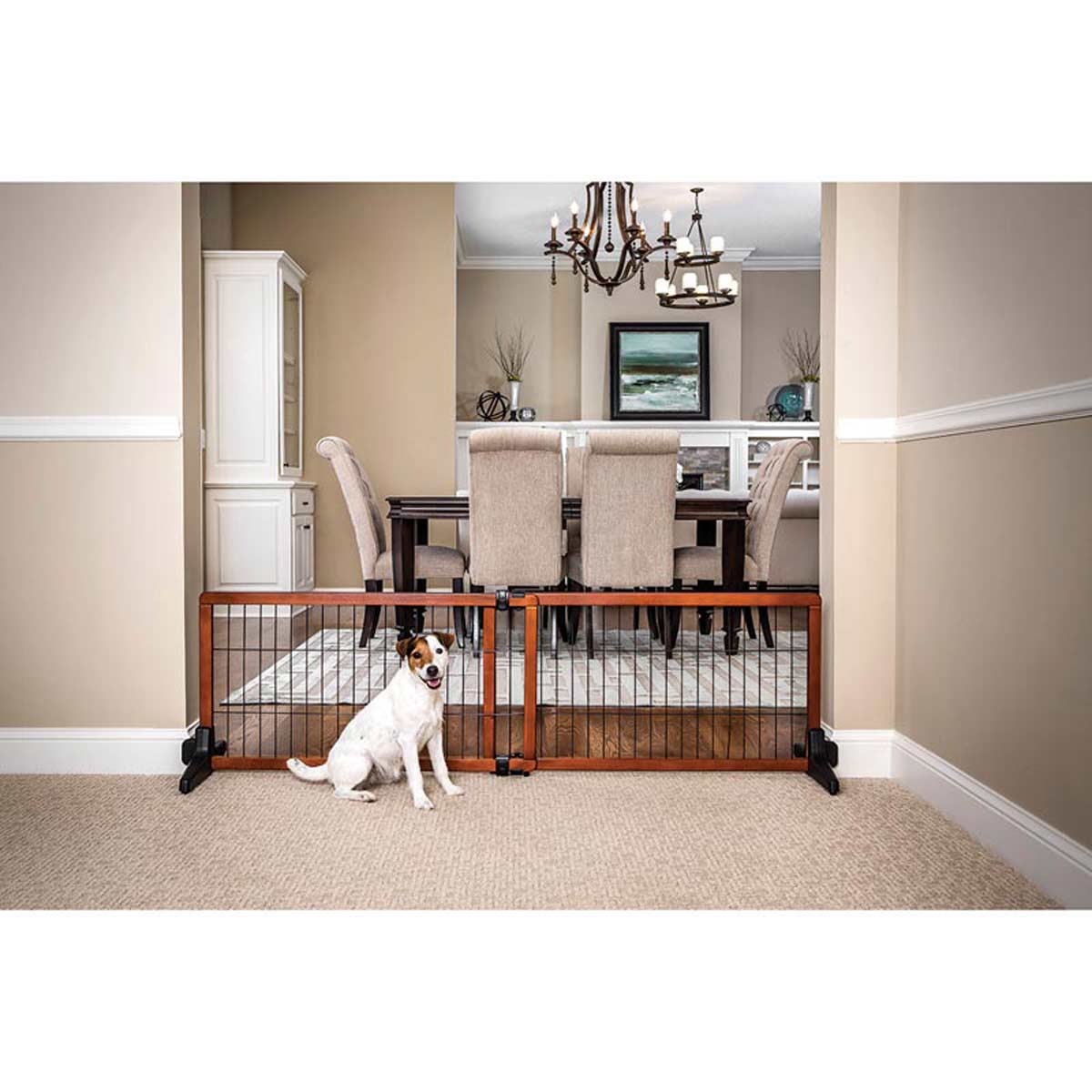 Carlson 20 inch Small Freestanding Pet Gate