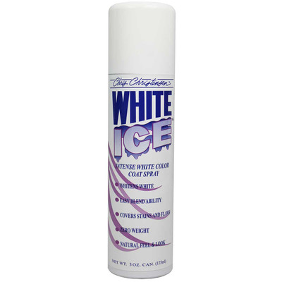 Chris Christensen White Ice Spray 3 oz for Dog Show Enthusiasts