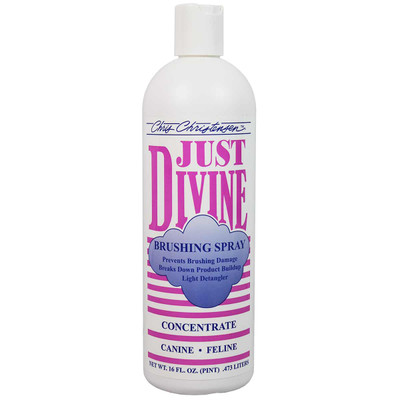 Chris Christensen Just Divine Brushing Spray Concentrate 16 oz