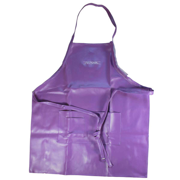 Purple Chris Christensen Water-Resistant Aprons for Grooming