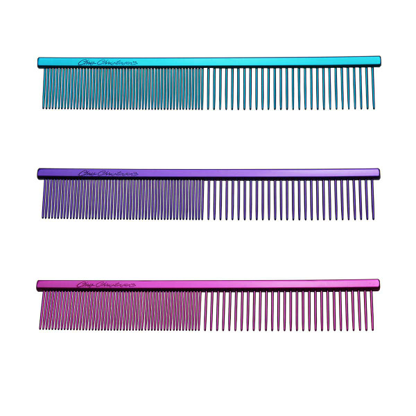 """Chris Christensen 5"""" Fine/Coarse Combs for dog groomers"""
