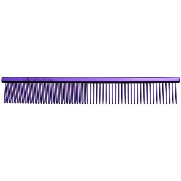 "Purple Chris Christensen 5"" Fine/Coarse Combs at Ryan's Pet Supplies"