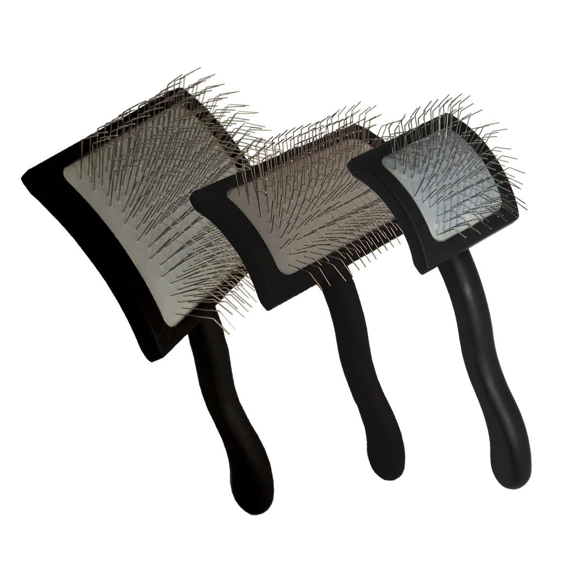 Chris Christensen Big K Black Slickers - Groomers' Miracle Brushes