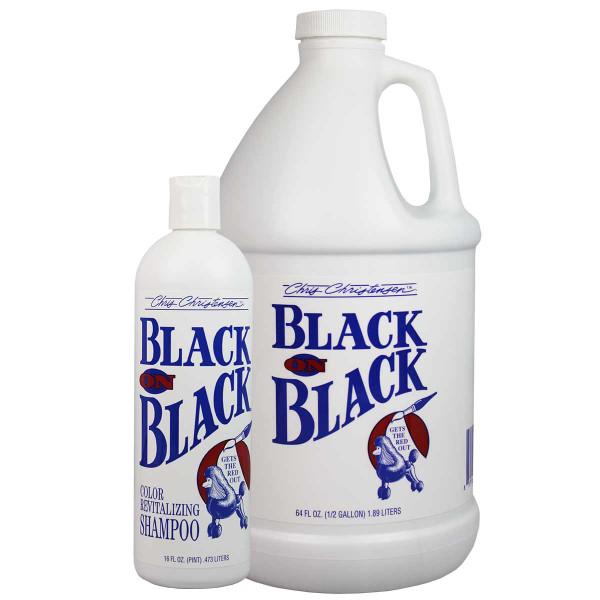 Chris Christensen Black on Black Pet Shampoo
