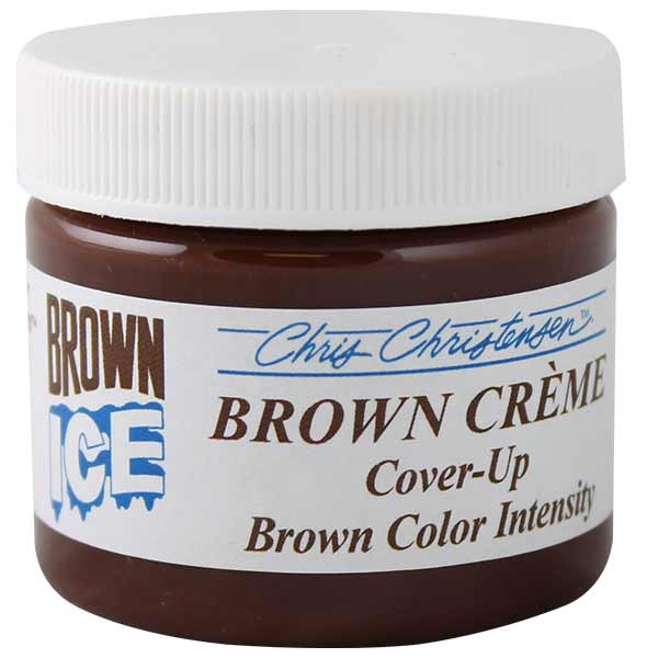 Brown Chris Christensen Ice Creme Cover Up for grooming