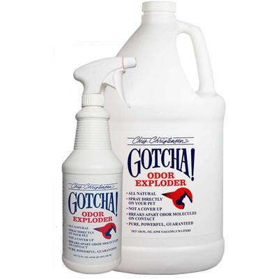 Chris Christensen GOTCHA! Odor Exploder disassembles pet odors with ease