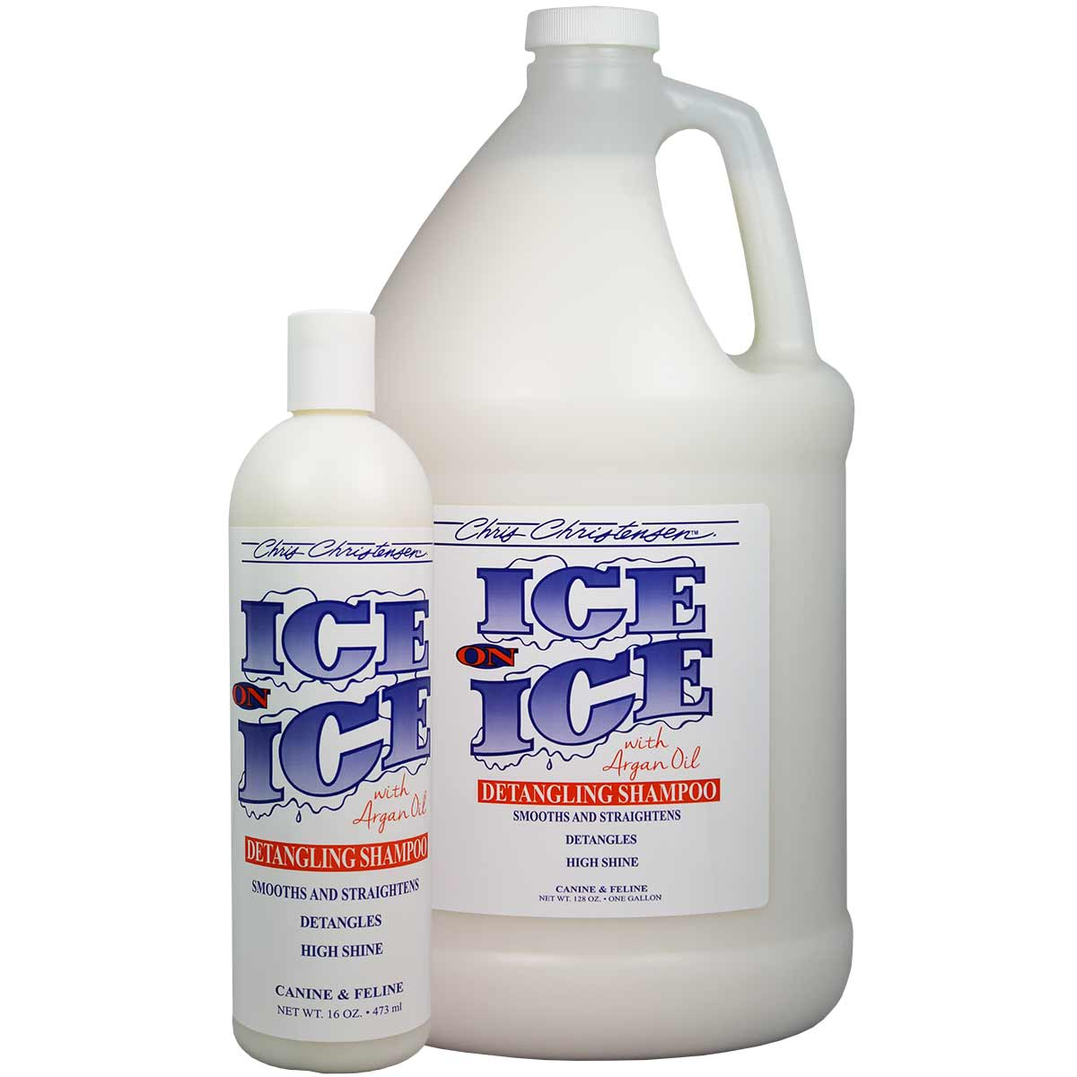 Chris Christensen Ice on Ice Detangling Pet Shampoo