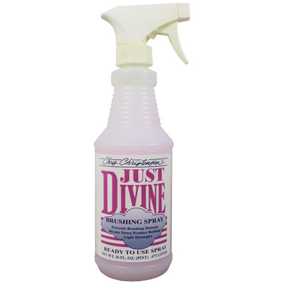 Chris Christensen Just Divine Brushing Spray Ready to Use Finishing Conditioning Spray for Pets