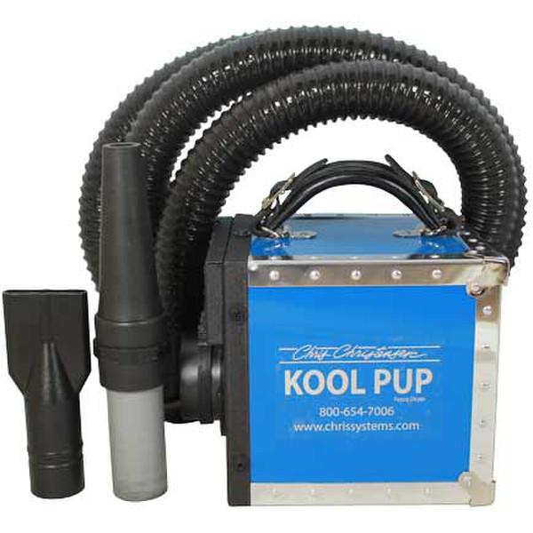 Blue Chris Christensen Kool Dry Pup Dryer