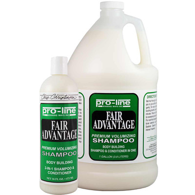 Chris Christensen Pro-Line Fair Advantage Pet Shampoo for cats and dogs
