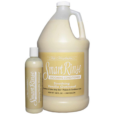 Chris Christensen SmartRinse Vanilla Oatmeal Grooming Conditioner for Pets