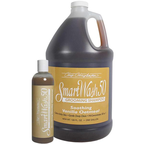 Chris Christensen SmartWash Vanilla Oatmeal Grooming Pet Shampoo