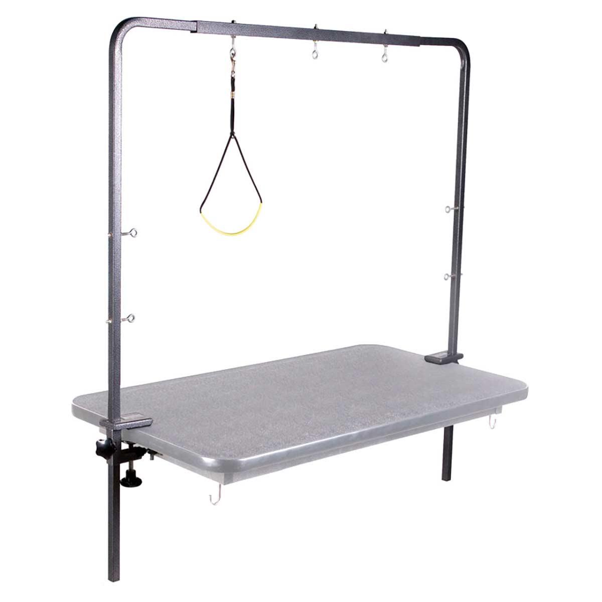 Side View ComfortGroom Overhead Grooming Arm for Grooming Table